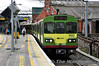 8122 + 8124 + 8125 arrive at Connolly with the 1406 Greystones - Howth Jct. The service was terminating here due to the Giro d'Italia race crossing the Howth Branch. Sun 11.05.14