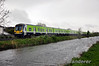 29007 + 29018 run alongside the Royal Canal at Ashtown. 1140 Maynooth - Pearse. Sun 11.05.14