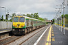 219 1020 Cork - Heuston at Newbridge. Sat 10.05.14