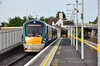 22005 stands at Newbridge Bay Platform before departure of the 0735 to Heuston. 20 years ago today the Commuter service started on the Heuston route. Fri 16.05.14