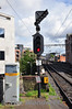 PE23 at Tara Street. This signal reads in the Down direction to the Down & Up Platforms at Pearse. Sun 11.05.14