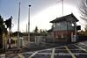 The former signal cabin and station at Multyfarnham. Sun 23.11.14