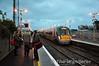 22023 arrives at Newbridge. 0725 Heuston - Waterford. Thurs 13.11.14