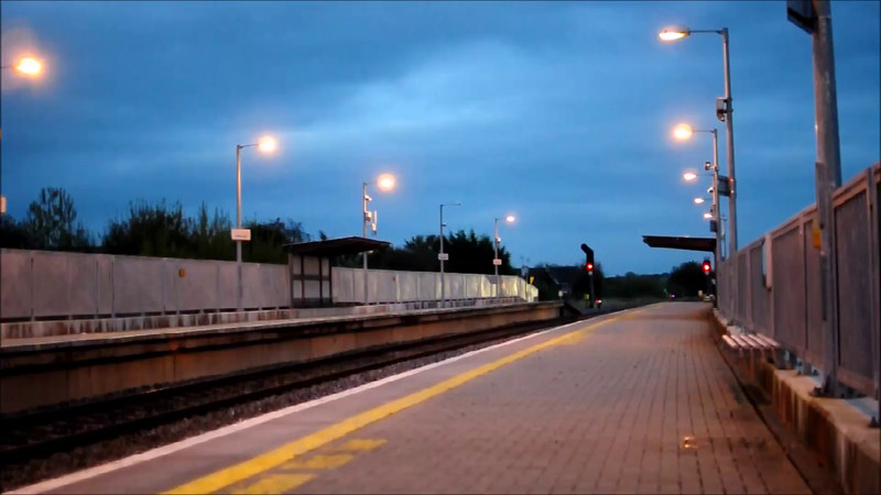 234 passes Portarlington with the 1800 Heuston - Cork. Wed 22.10.14
