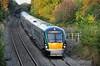 22004 + 22002 at Deerpark Bridge, Portarlington with the 1810 Heuston  - Portlaoise Commuter Service. Thurs 10.09.14