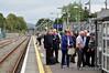 Passengers waiting for the 1305 Tralee - Heuston Spl. at Killarney. Sat 20.09.14