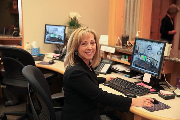 Sue & office photos
