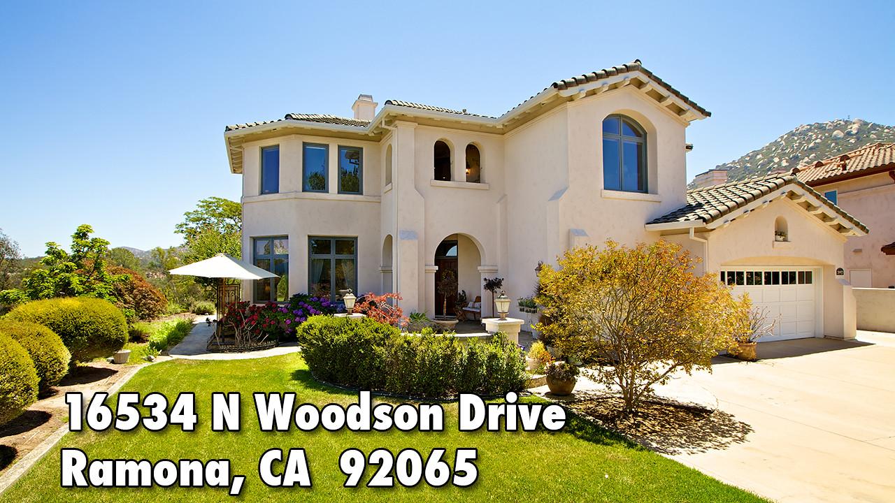 16534 N Woodson Drive, Ramona, CA  92065