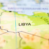 libya country on map