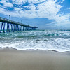 at fishing pier on the Outer Banks, North Carolina