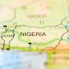 nigeria country on map