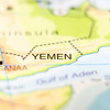 yemen country on map