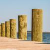 wood pier columns detail