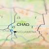 chad country on map