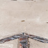 brick paver north arrow compass