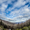 blue ridge parkway winter scenes
