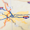pittsburgh city pin on the map