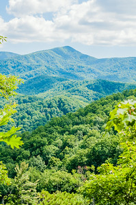 Great Smoky Mountains National Park near Gatlinburg, Tennessee.