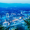scenics around mill mountain roanoke virginia usa