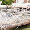 Old Boat on Abandoned Junk Yard