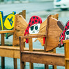 wood carved pirate chairs