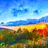 Blue Ridge Parkway late summer Appalachian Mountains Sunset Western NC Scenic Landscape vacation destination