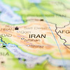 iran country on map