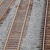 Full Frame of Railroad Tracks