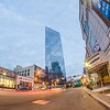 white plains ny city stree scenes and skyline