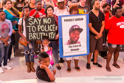 08-14-2014 Ferguson National Moment of Silence - Phoenix