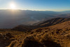 Setting sun over Death Valley (from Dante's View)