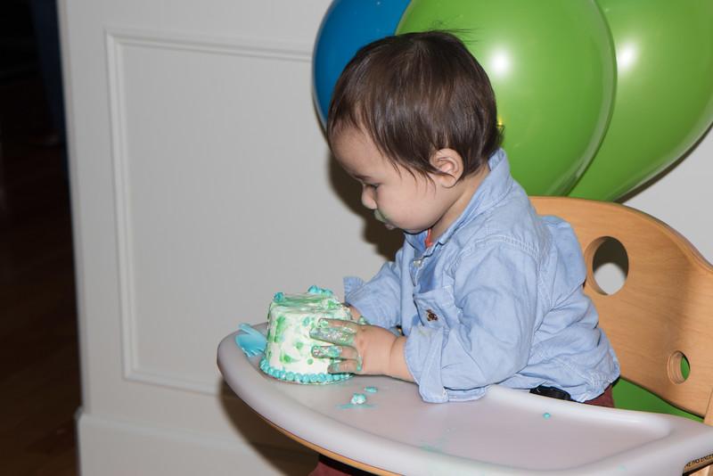 Isaac's 1st birthday-23
