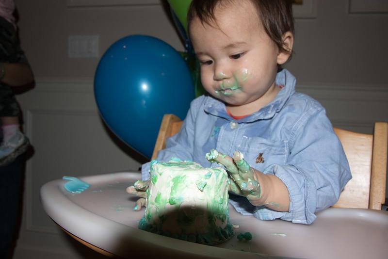 Isaac's 1st birthday-26