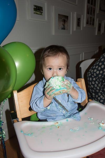 Isaac's 1st birthday-30