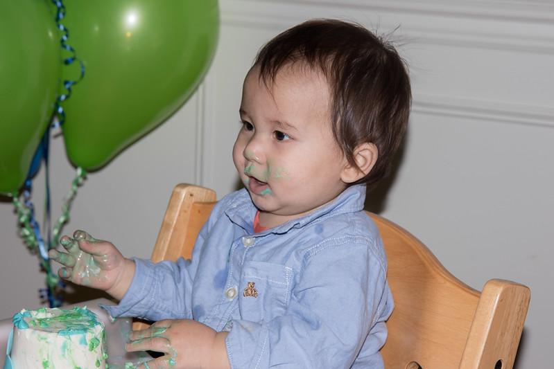 Isaac's 1st birthday-21
