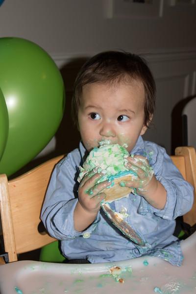 Isaac's 1st birthday-31