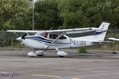 G-LUEK 170814 Blackbushe
