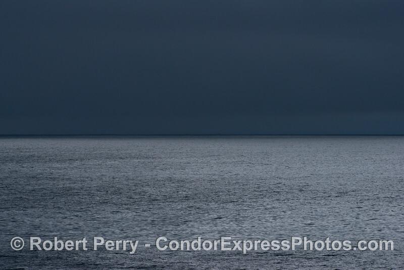 Rain clouds & ocean 2014 02-08 SB Channel-001