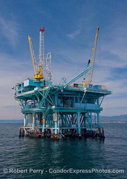Offshore oil platform C.