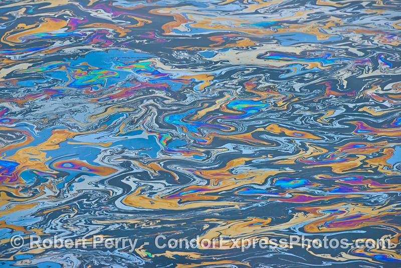 Spring fever - natural ocean surface image.