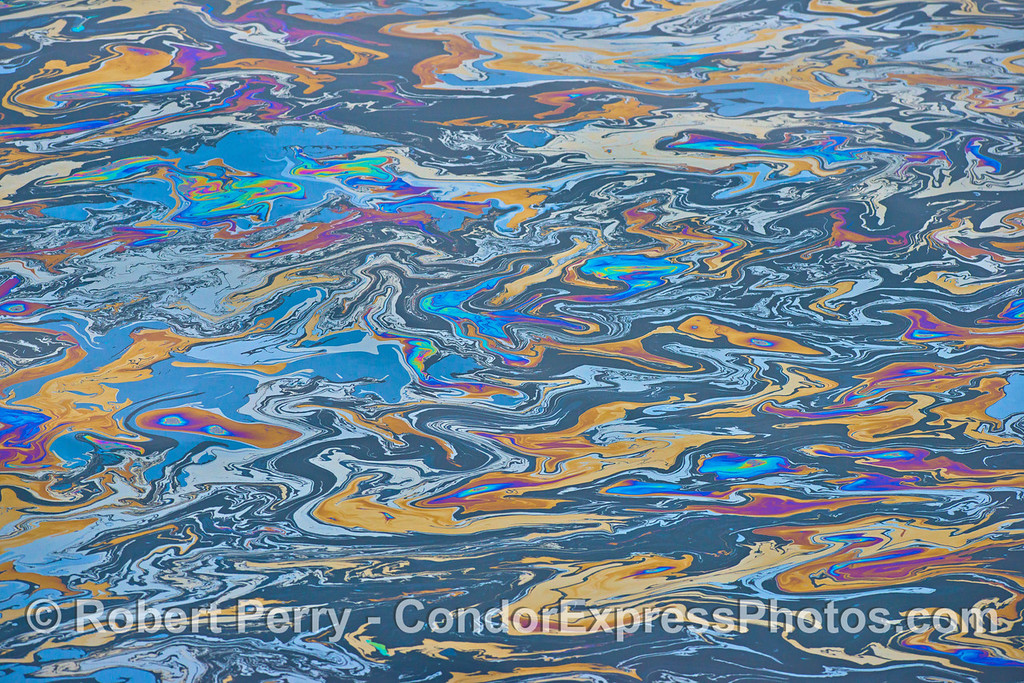 Spring fever - natural ocean surface image.