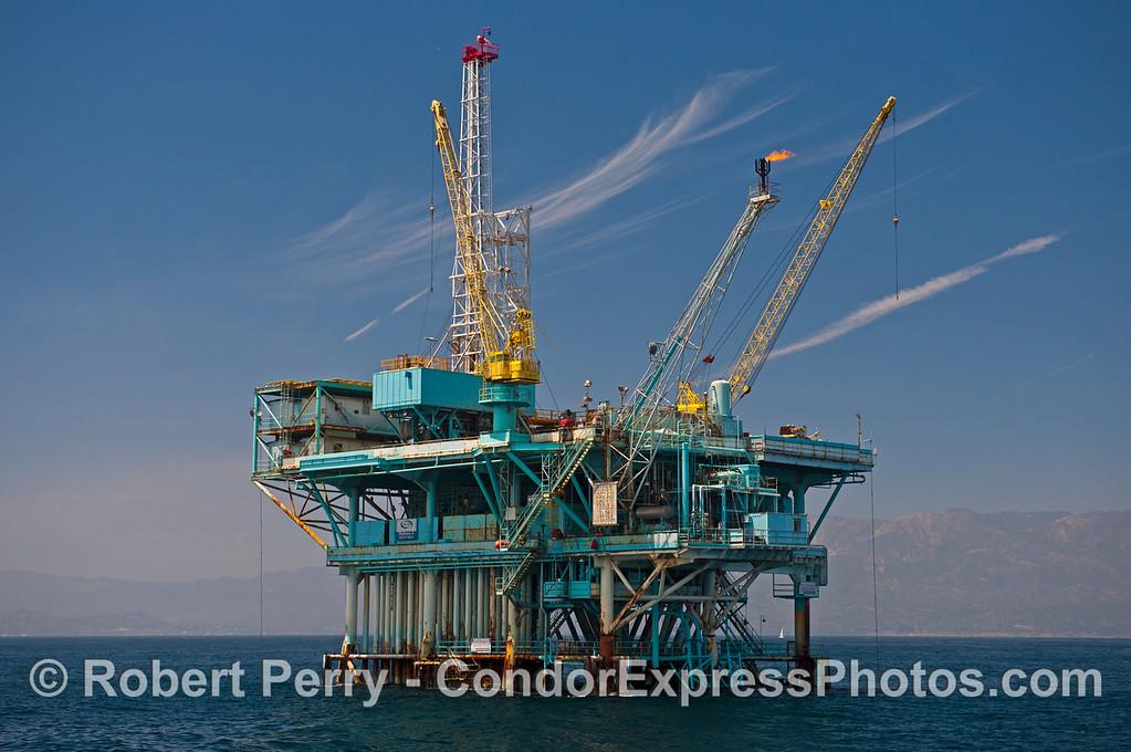 Offshore oil platform A.