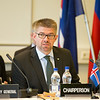 From left: Kristinn F. Árnason, Secretary-General, EFTA; Gunnar Bragi Sveinsson, Minister for Foreign Affairs and External Trade, Iceland (Chair) and Martin Eyjólfsson, Ambassador, Swiss Mission to EFTA and the World Trade Organisation