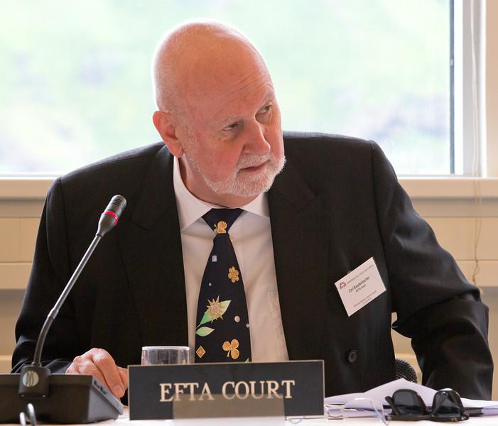 Mr Carl Baudenbacher, President of the EFTA Court