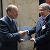 Mr Norbert Frick, Ambassador, Permanent Representative Permanent Mission in Geneva;, and Mr Gregory L. Domingo, Secretary, Department of Trade and Industry, the Philippines.