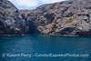 Entrance to the world famous Painted Cave - Santa Cruz Island