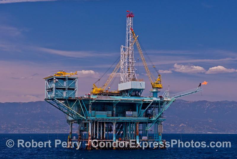 Offshore oil platform Charlie