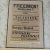 Maine - Bangor - Bangor Historical Society - Freemen Poster