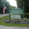 Maine - Arundel - Hemlock Grove Campground - Sign
