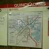Boston - Quincy Adams Train Station - Route Map